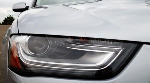 Audi A4 Quattro headlamp